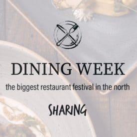 Dining week sharing logo